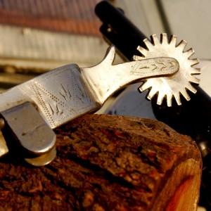 Ковбойская шпора, американский винтаж, декор