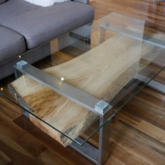 Журнальный стол в стиле индастриал MI-6