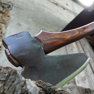 Винтажный американский  топор  J.H. Williams Broad Axe 1890-1910е годы