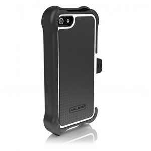 Противоударный чехол на iPhone 5/5s, Ballistic Tough Jacket Maxx Black/White