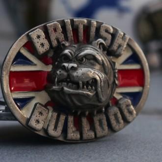 Английская пряжка British Bulldog