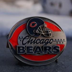 Американская пряжка Chicago Bears
