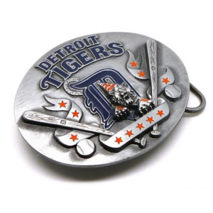 Американская пряжка Detroit Tigers