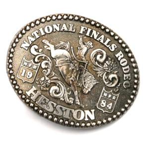 Американская пряжка National Finals Rodeo Hesston 1984 NFR
