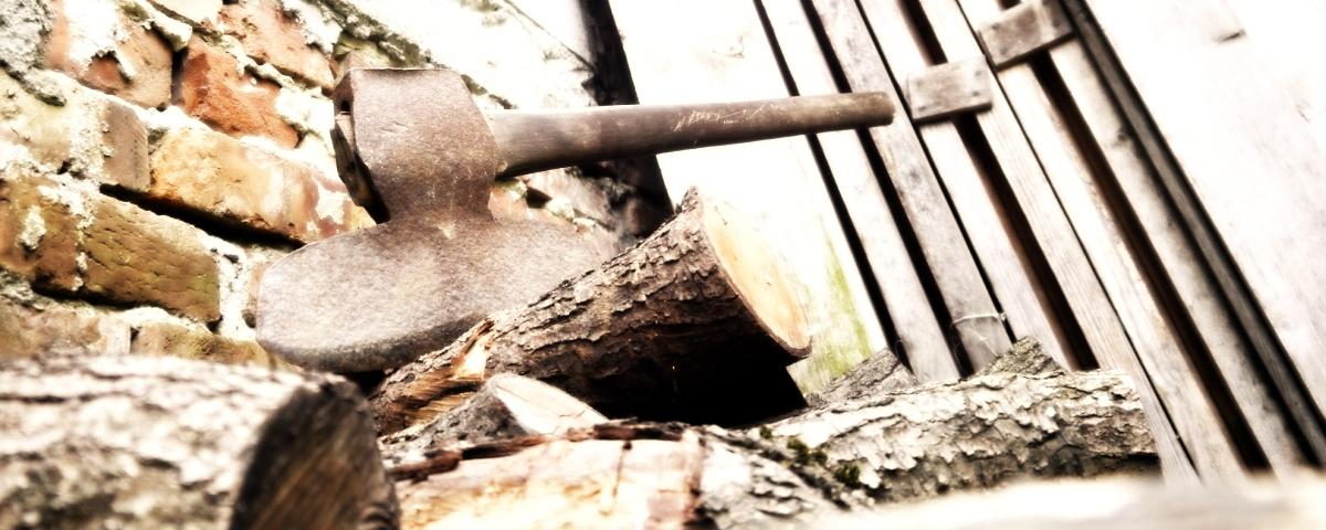 Классический Broad Axe, топор первых колонистов
