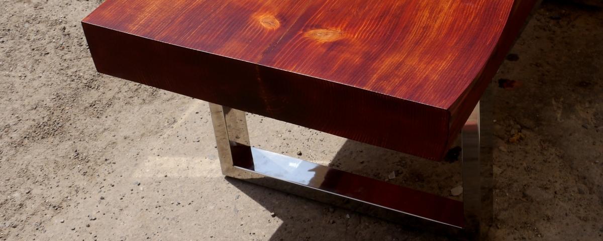 Журнальный столик в стиле хай-тек