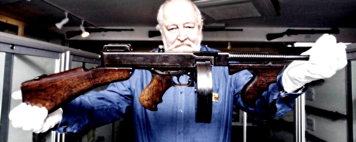Tommy Gun, американский винтаж в действии