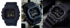 Крутой подарок мужчине - противоударные часы Casio G-Shock GX-56BB Blackout Series