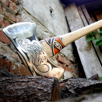 Винтажный топор Craftsman Double Bit Cruiser Axe /Tigercat/